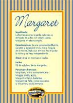 Nombre Margaret