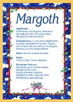 Nombre Margoth