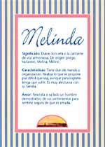 Nombre Melinda