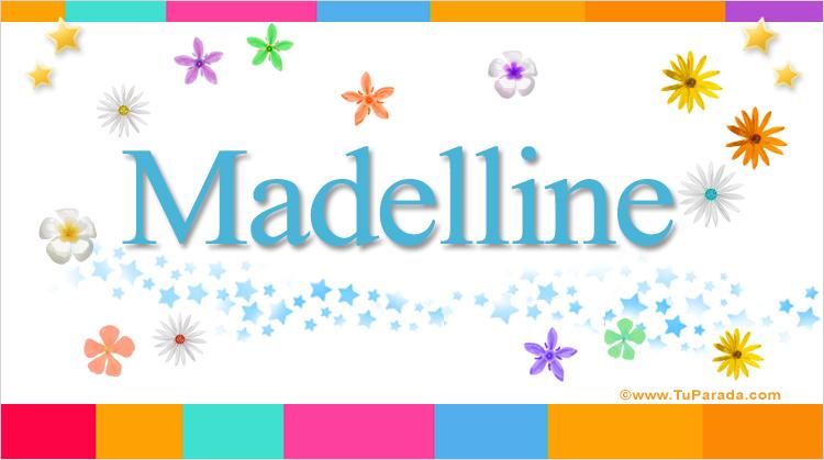Madelline, imagen de Madelline
