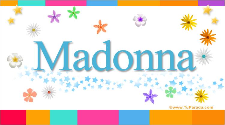 Madonna, imagen de Madonna