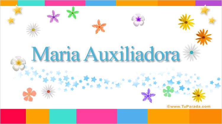 Maria Auxiliadora, imagen de Maria Auxiliadora