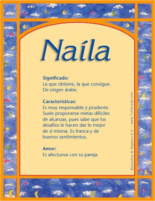 Naíla, imagen de Naíla
