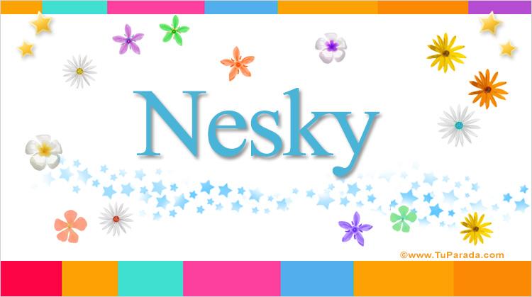 Nesky, imagen de Nesky