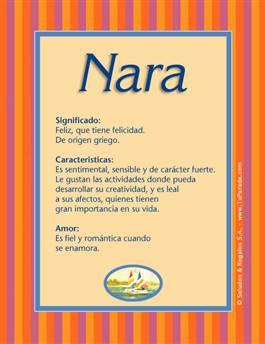 Nombre Nara