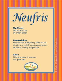 Nombre Neufris