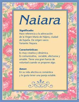 Nombre Naiara