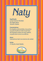 Nombre Naty