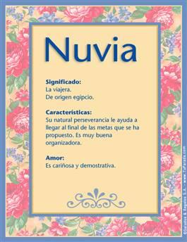 Nombre Nuvia