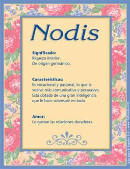 Nombre Nodis