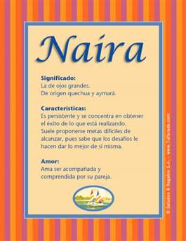 Nombre Naira
