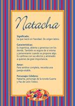Nombre Natacha