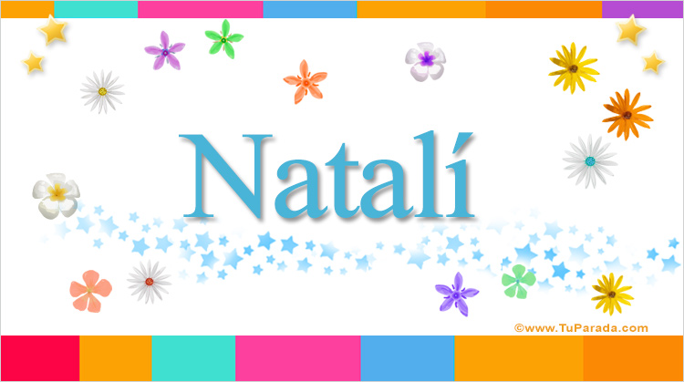 Natalí, imagen de Natalí