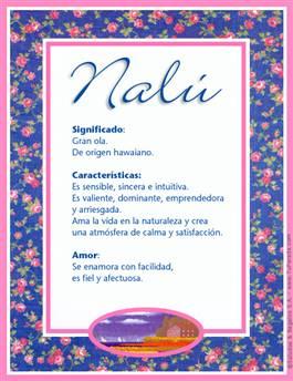 Nombre Nalú