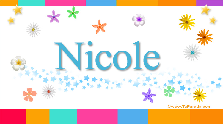 Nicole, imagen de Nicole