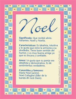 Nombre Noel