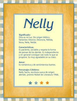 Nombre Nelly