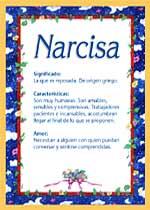Nombre Narcisa