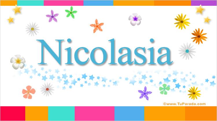 Nicolasia, imagen de Nicolasia