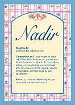 Nombre Nadir