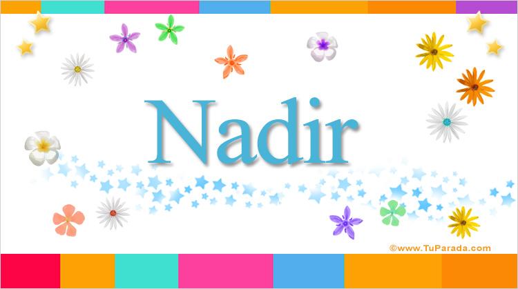 Nadir, imagen de Nadir