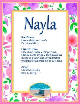 Nombre Nayla