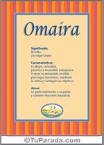 Nombre Omaira