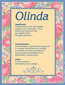 Nombre Olinda