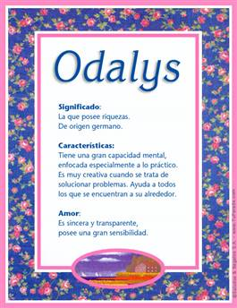 Nombre Odalys