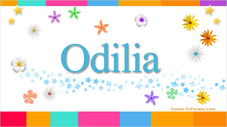 Odilia, imagen de Odilia