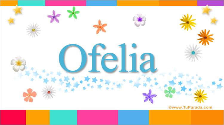 Ofelia, imagen de Ofelia