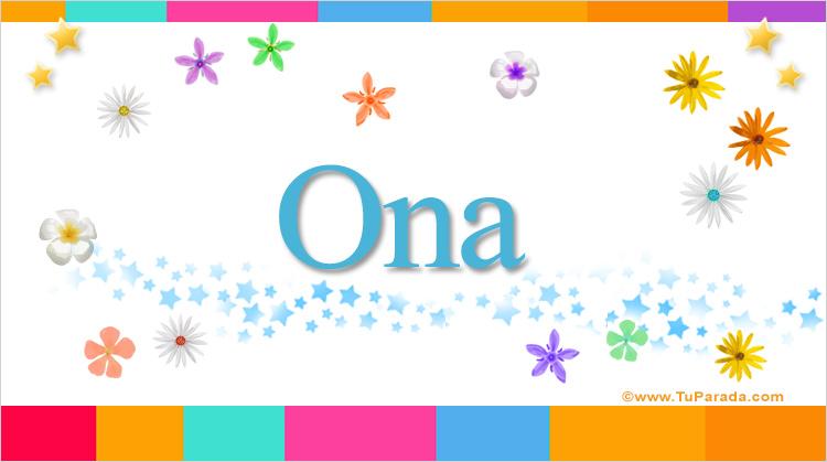Ona, imagen de Ona