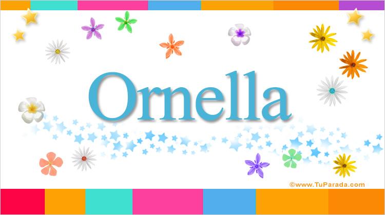 Ornella, imagen de Ornella