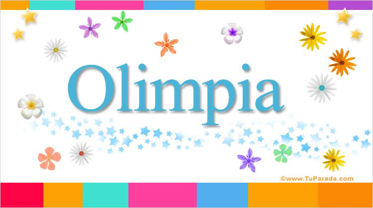 Olimpia, imagen de Olimpia