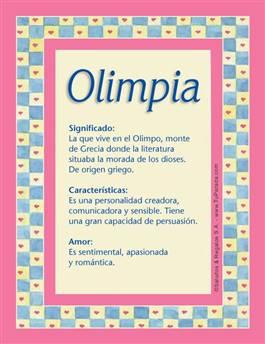 Nombre Olimpia