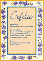 Orfilia