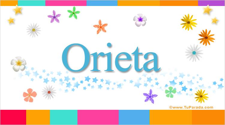 Orieta, imagen de Orieta