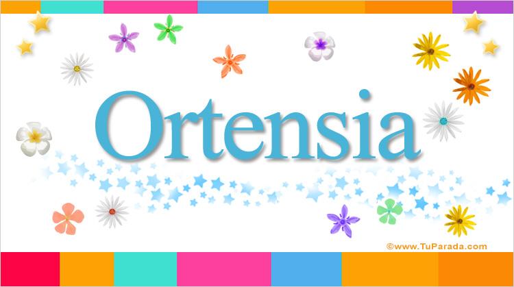Ortensia, imagen de Ortensia
