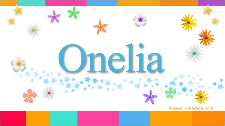 Onelia, imagen de Onelia