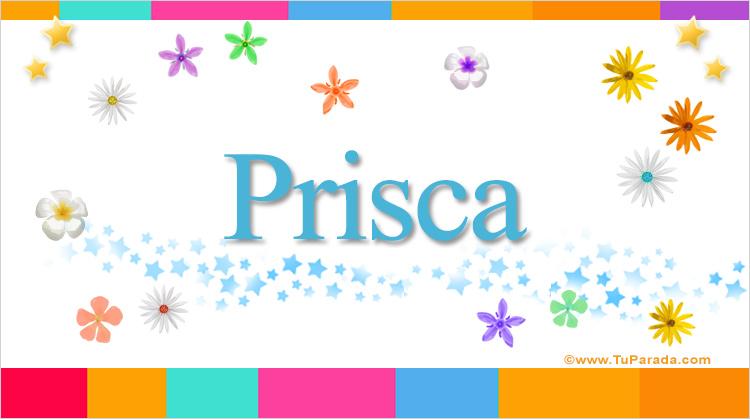 Prisca, imagen de Prisca