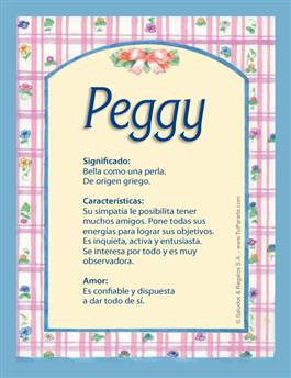 Nombre Peggy