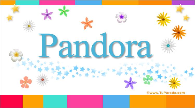 Pandora, imagen de Pandora