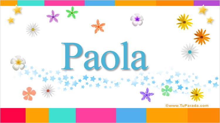 Paola, imagen de Paola