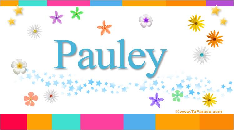 Pauley, imagen de Pauley