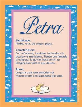 Nombre Petra