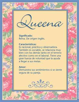 Nombre Queena
