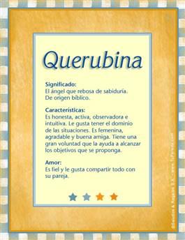 Nombre Querubina