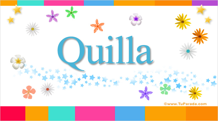 Quilla, imagen de Quilla