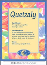 Quetzaly