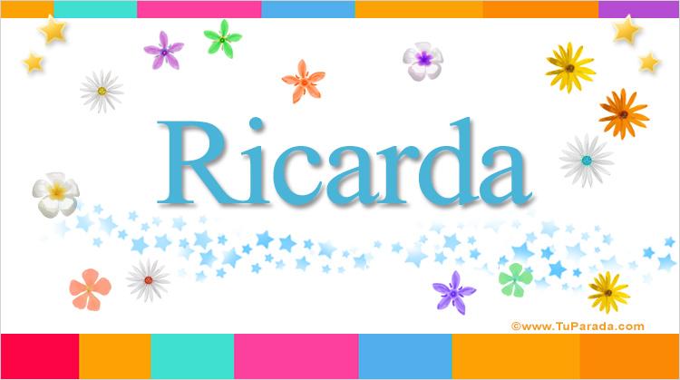 Ricarda, imagen de Ricarda